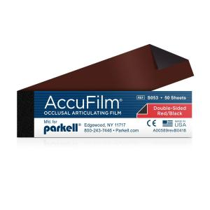 Accu-Film II Red/Black in Booklets (5 booklets of 50 strips)